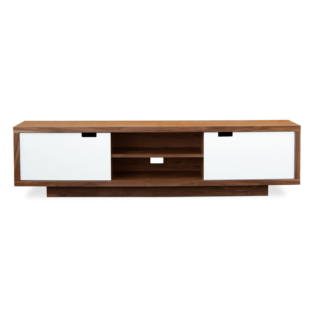gus modern wilson media stand  grid furnishings - wilsonmediastandx