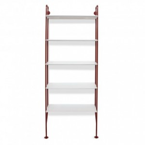 hitch-modern-bookcase-red-legs-white-shelves_1