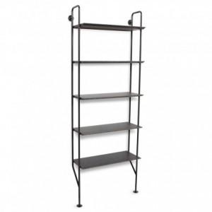 hitch-modern-bookcase-slate-legs-smoke-shelves-angle