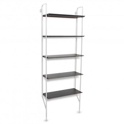 hitch-modern-bookcase-white-legs-smoke-shelves-angle