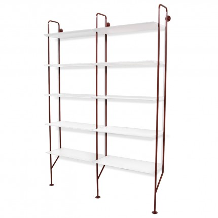 hitch-modern-bookcase-with-addon-red-white