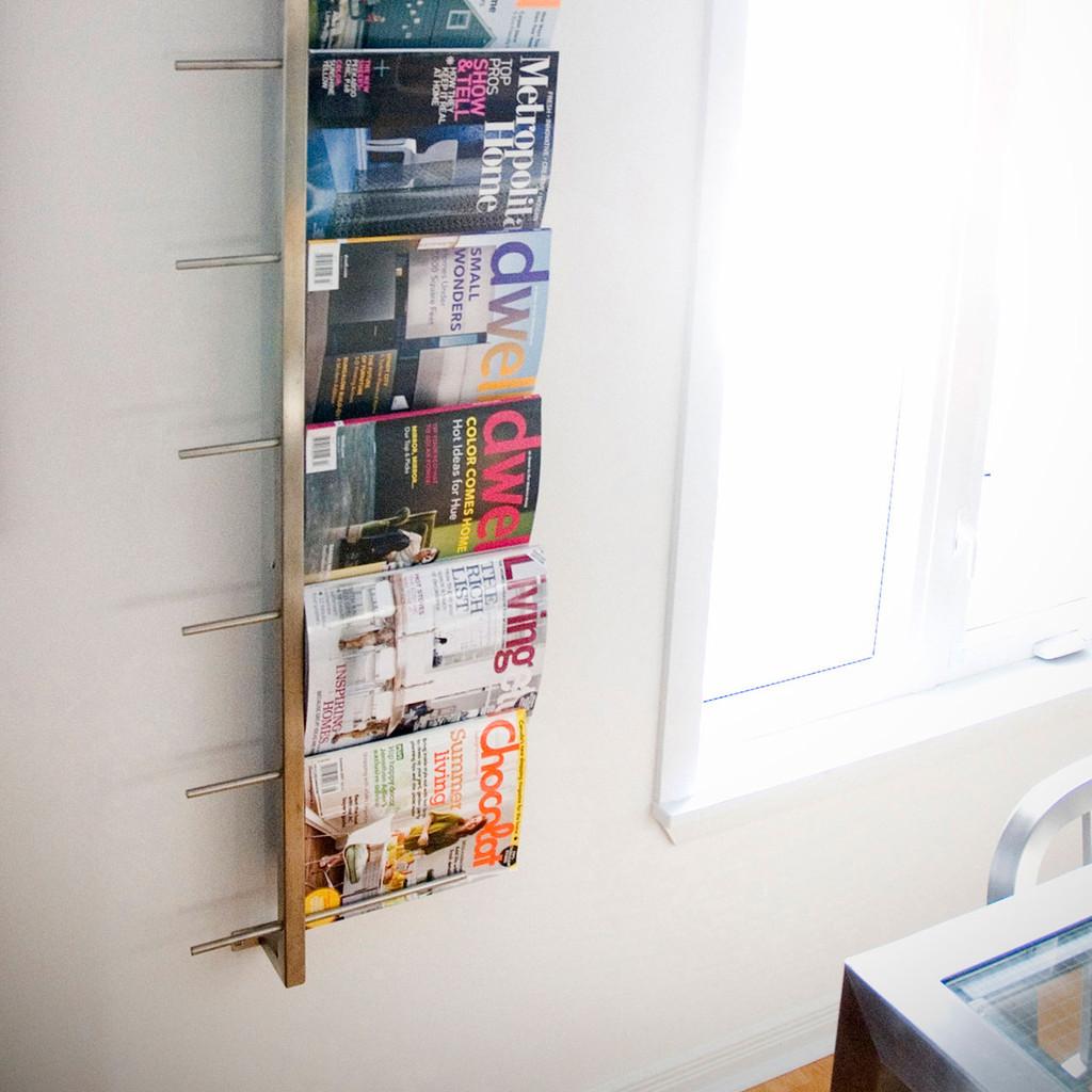 gus modern magazine rack  grid furnishings - magazinerackx