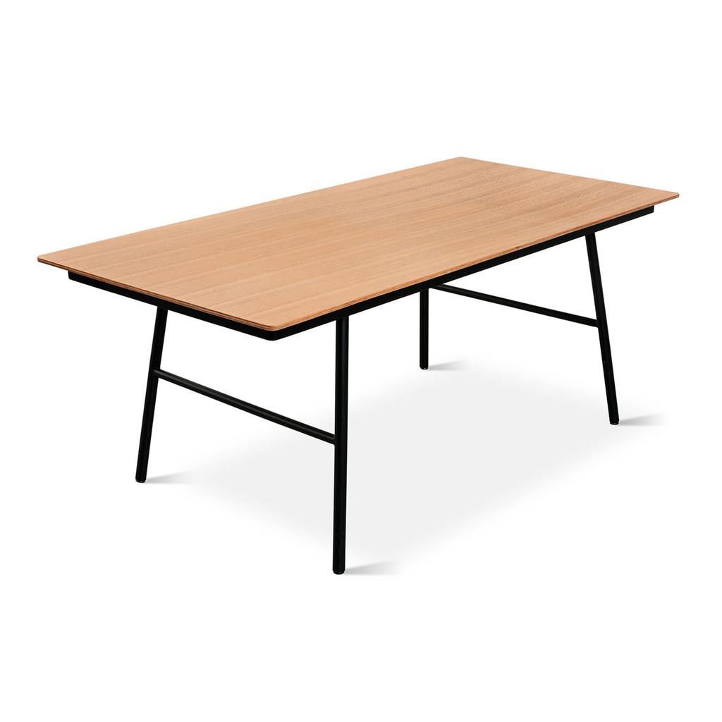 Round school table - Schooltable Oak02_1024x1024
