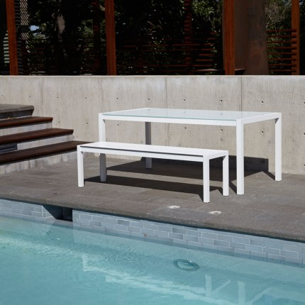 Skiff Modern Outdoor Bench Pool_1