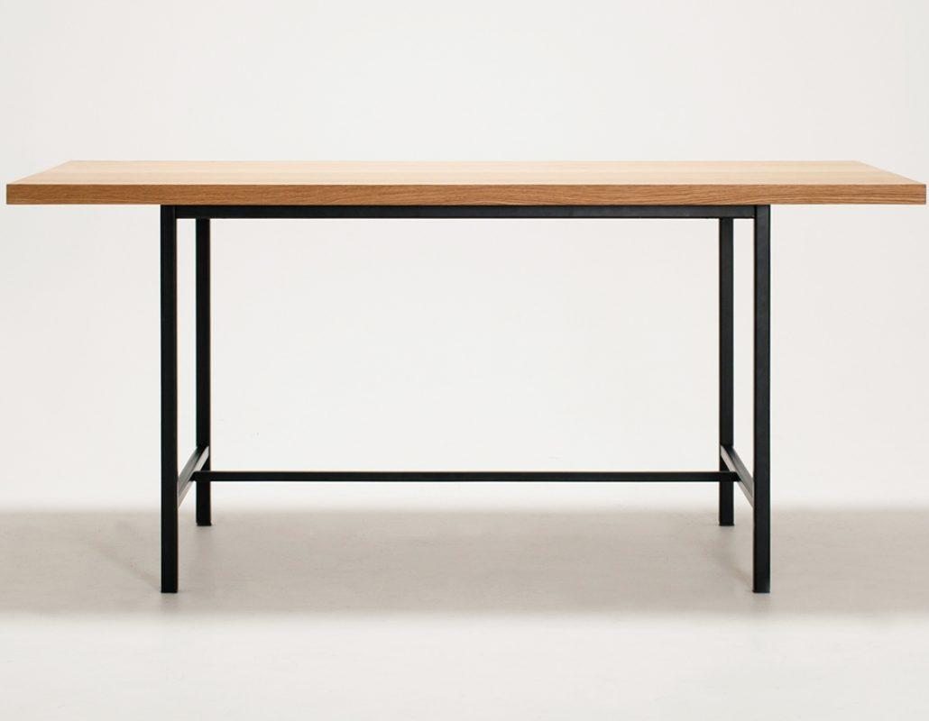 EQ3 Kendell Dining Table Oak top - Copy