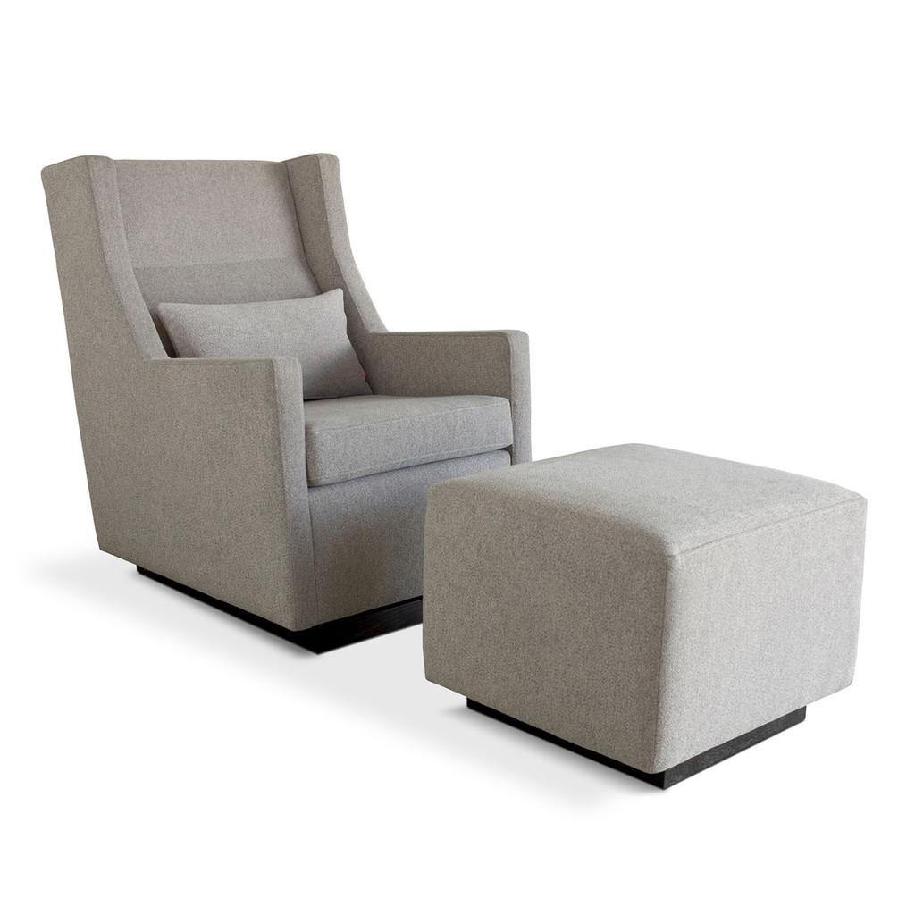 Phenomenal Gus Modern Sparrow Glider Ottoman Grid Furnishings Evergreenethics Interior Chair Design Evergreenethicsorg