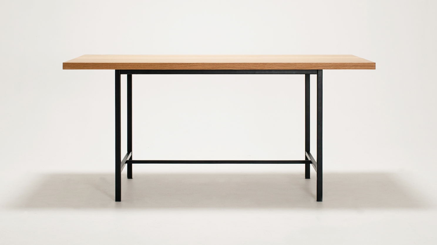 EQ3 Kendall Dining Table Solid Oak Top Grid Furnishings : EQ3 Kendell Dining Table Oak top Copy from gridfurnishings.com size 1488 x 836 jpeg 615kB